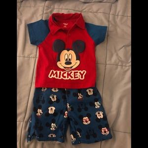 Toddler Mickey Mouse outfit